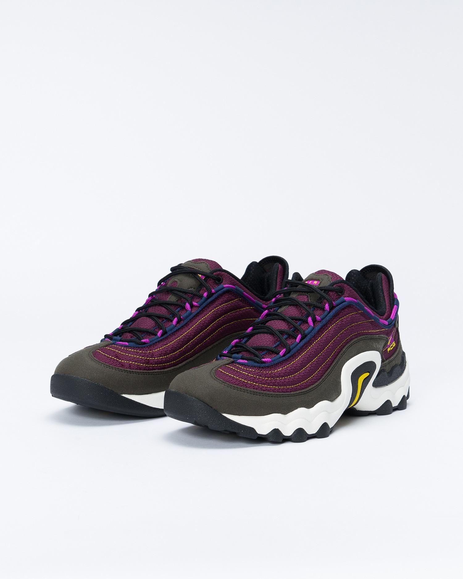 Nike ACG Air Skarn Sequoia / Vivid Purple - Bright Citron
