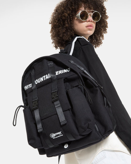 White Mountaineering White Mountaineering x Eastpak Multi pocket backpack Black/black