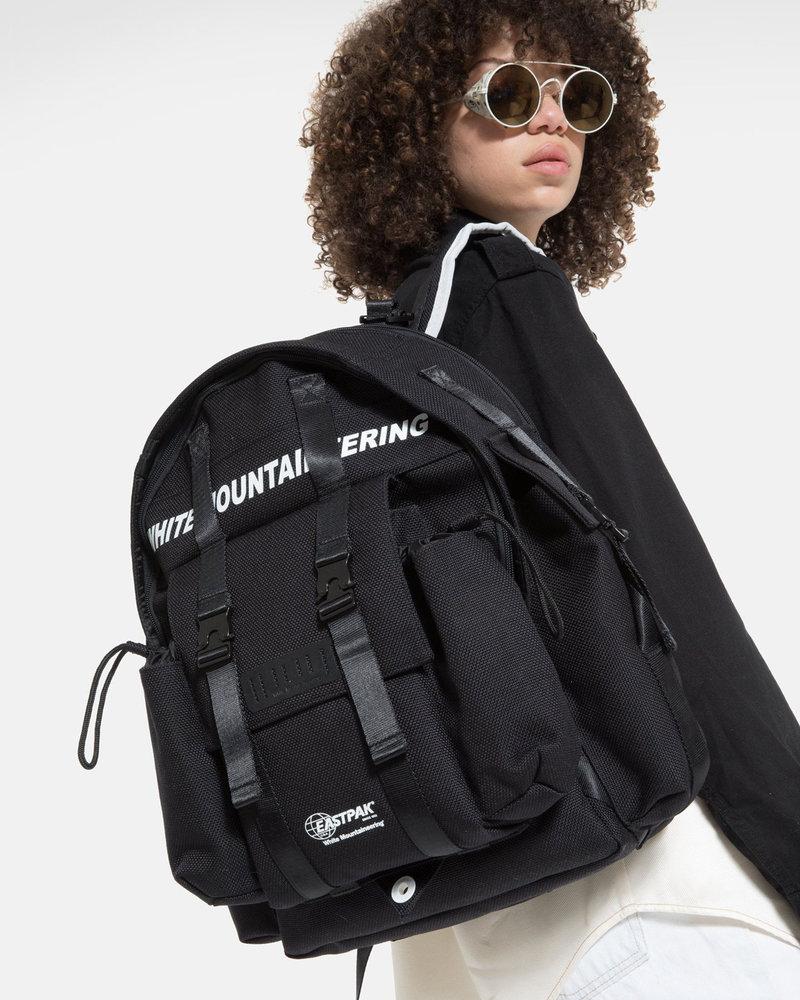White Mountaineering White Mountaineering x Eastpak Multi pocket backpack Black/black