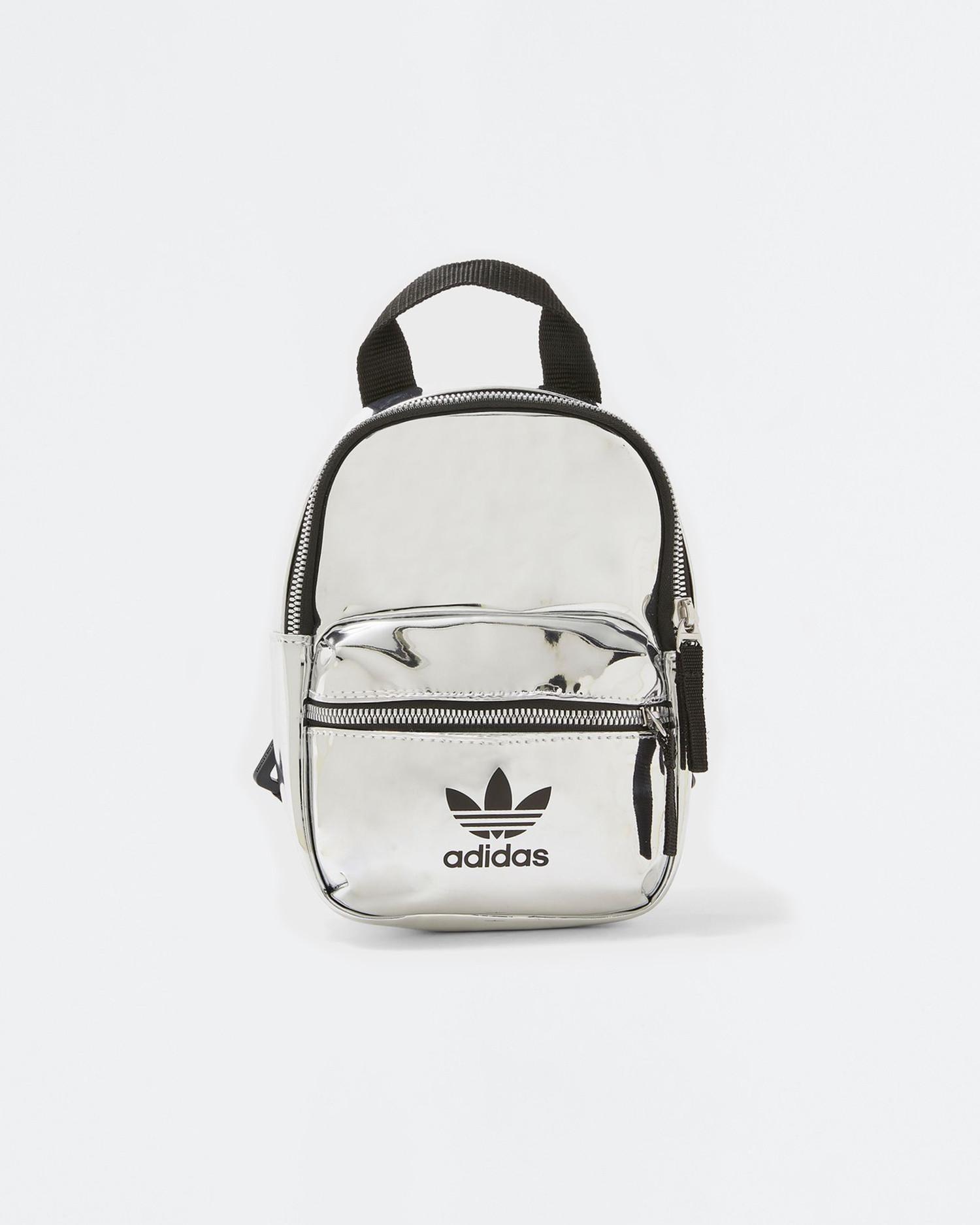 adidas Backpack Mini Pu Silver Metallic