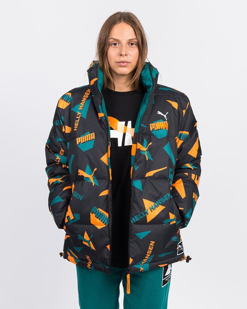 Puma Puma x Helly Hansen Jacket AOP front/Teal green