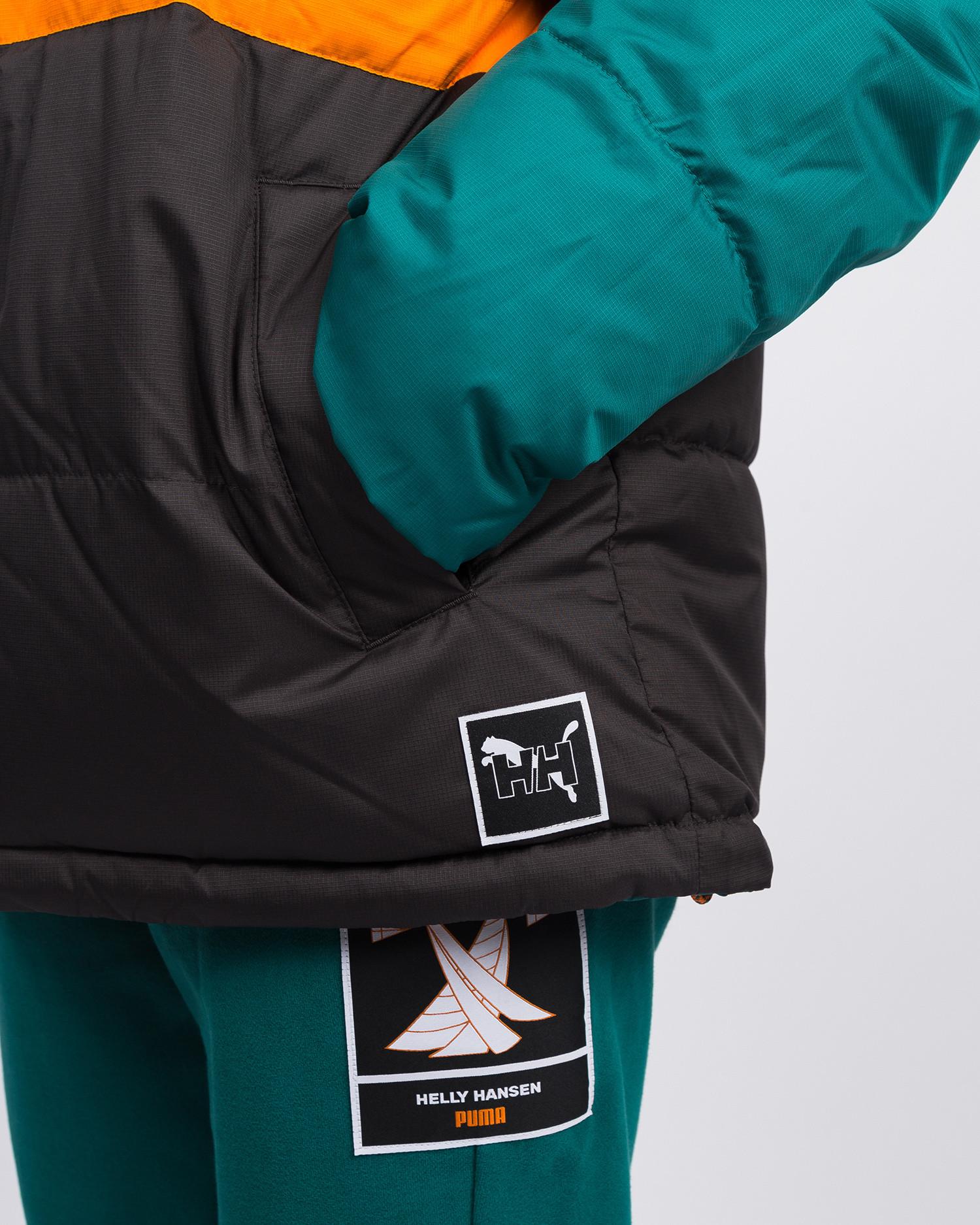 Puma x Helly Hansen Jacket AOP front/Teal green