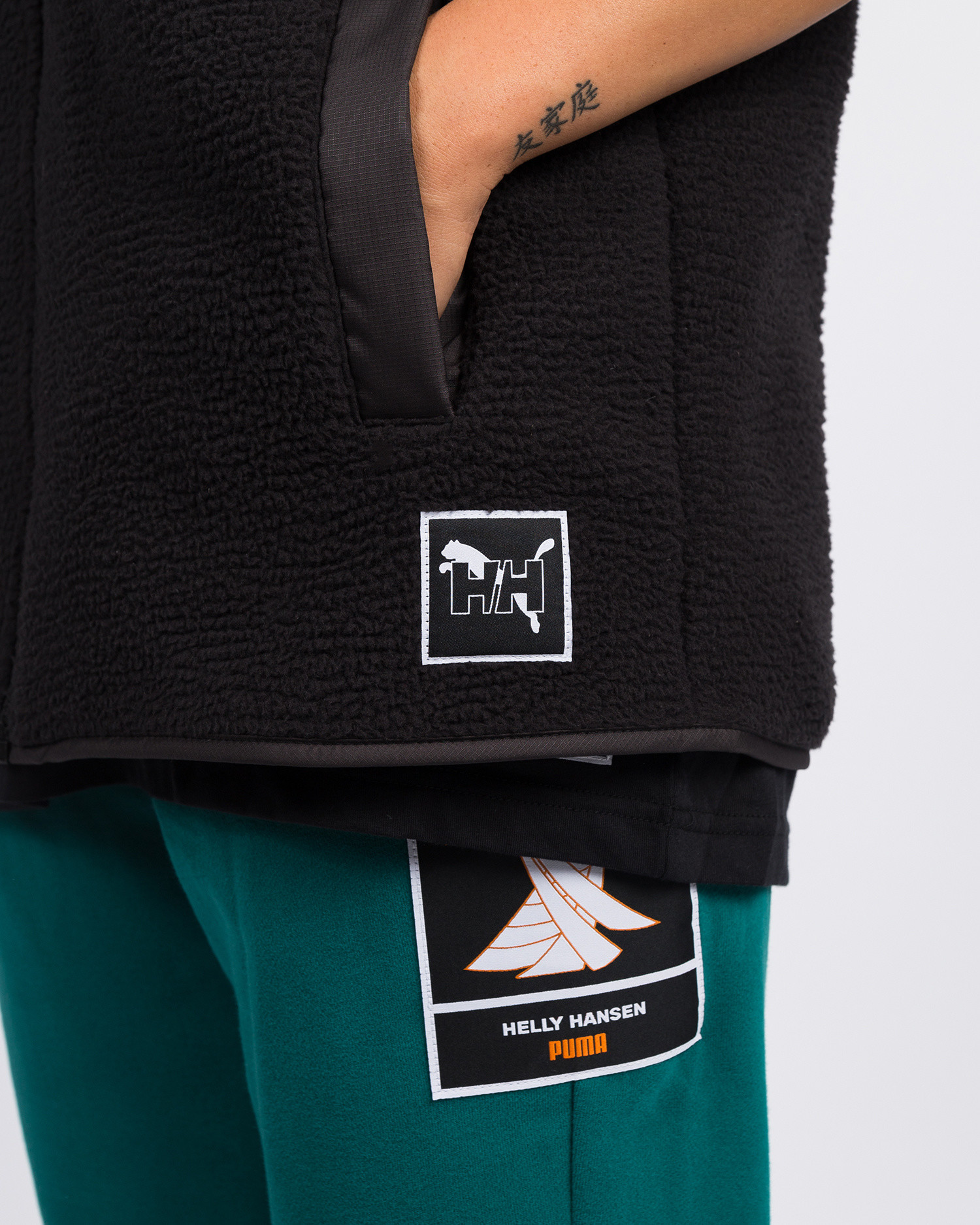 Puma x Helly Hansen Vest Black