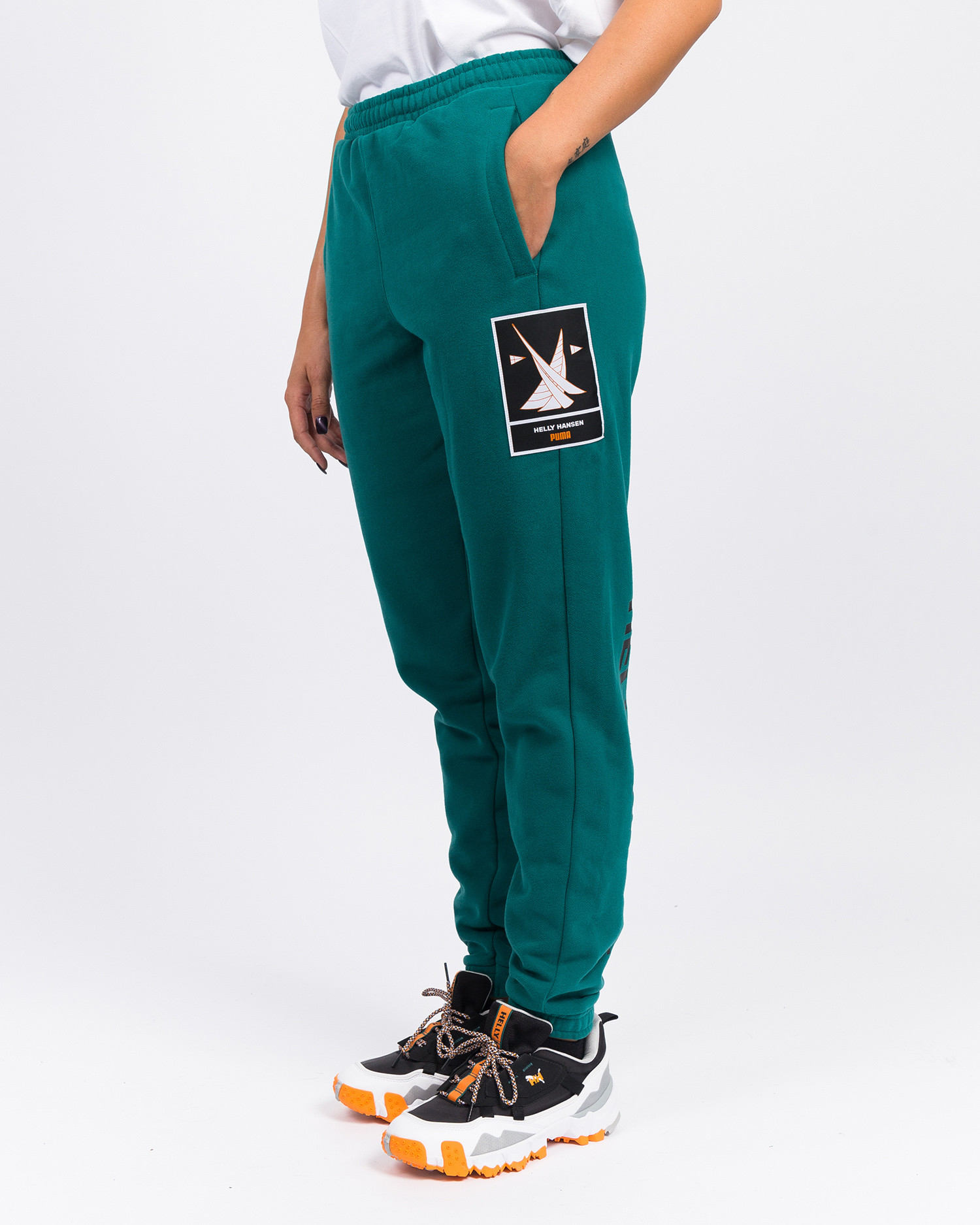 Puma X Helly Hansen Fleece Pant/Teal Green