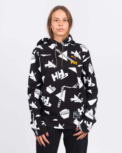 Puma Puma X Helly Hansen Hoody Aop Puma Black