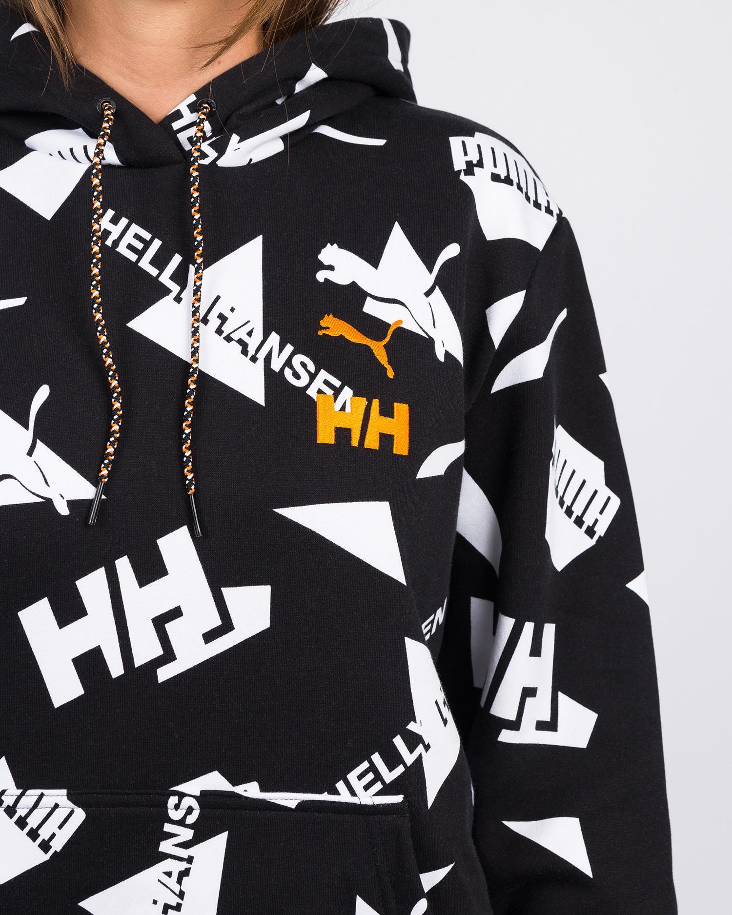 Puma X Helly Hansen Hoody Aop Puma Black