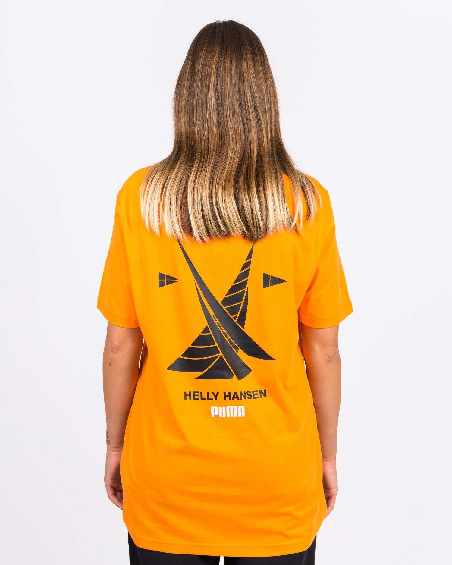 Puma X Helly Hansen Tee Puma Orange Popsicle