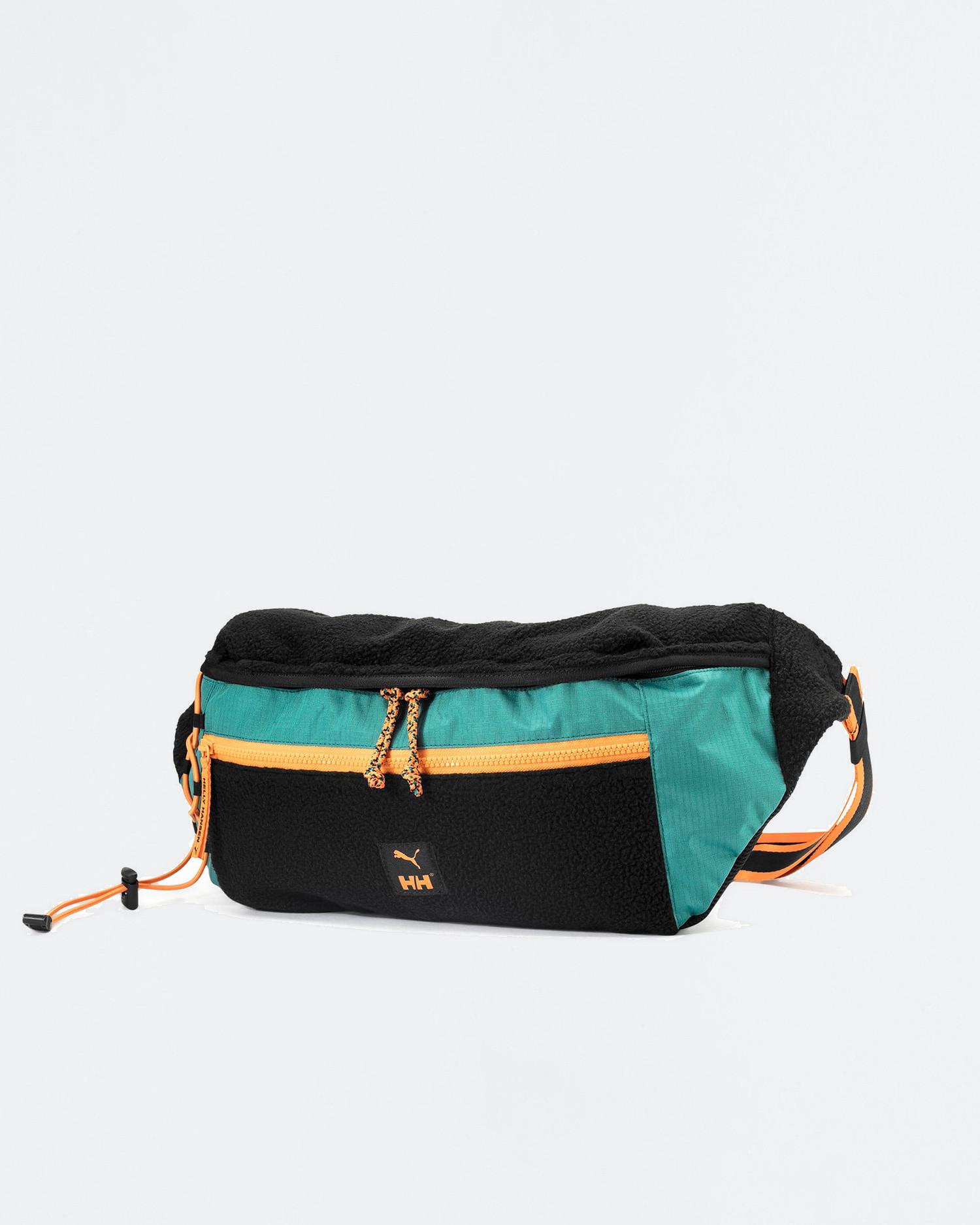 Puma x Helly Hansen Oversized waistbag Black/Teal green