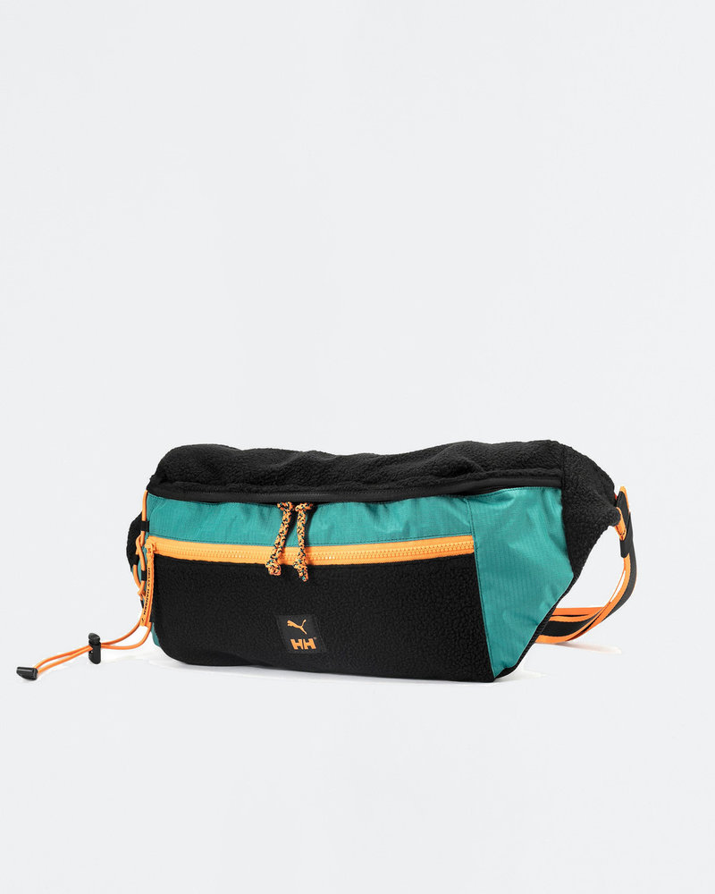 Puma Puma x Helly Hansen Oversized waistbag Black/Teal green