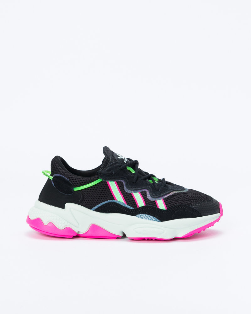 Adidas Adidas Ozweego w Core Black/Shock Lime/Shock Pink