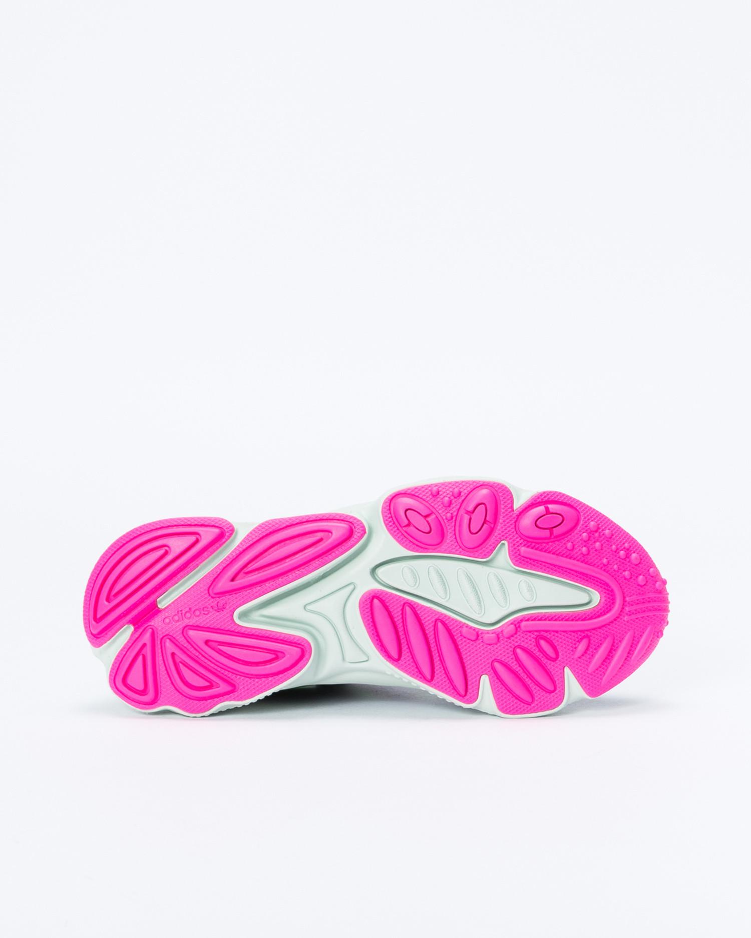 Adidas Ozweego w Core Black/Shock Lime/Shock Pink