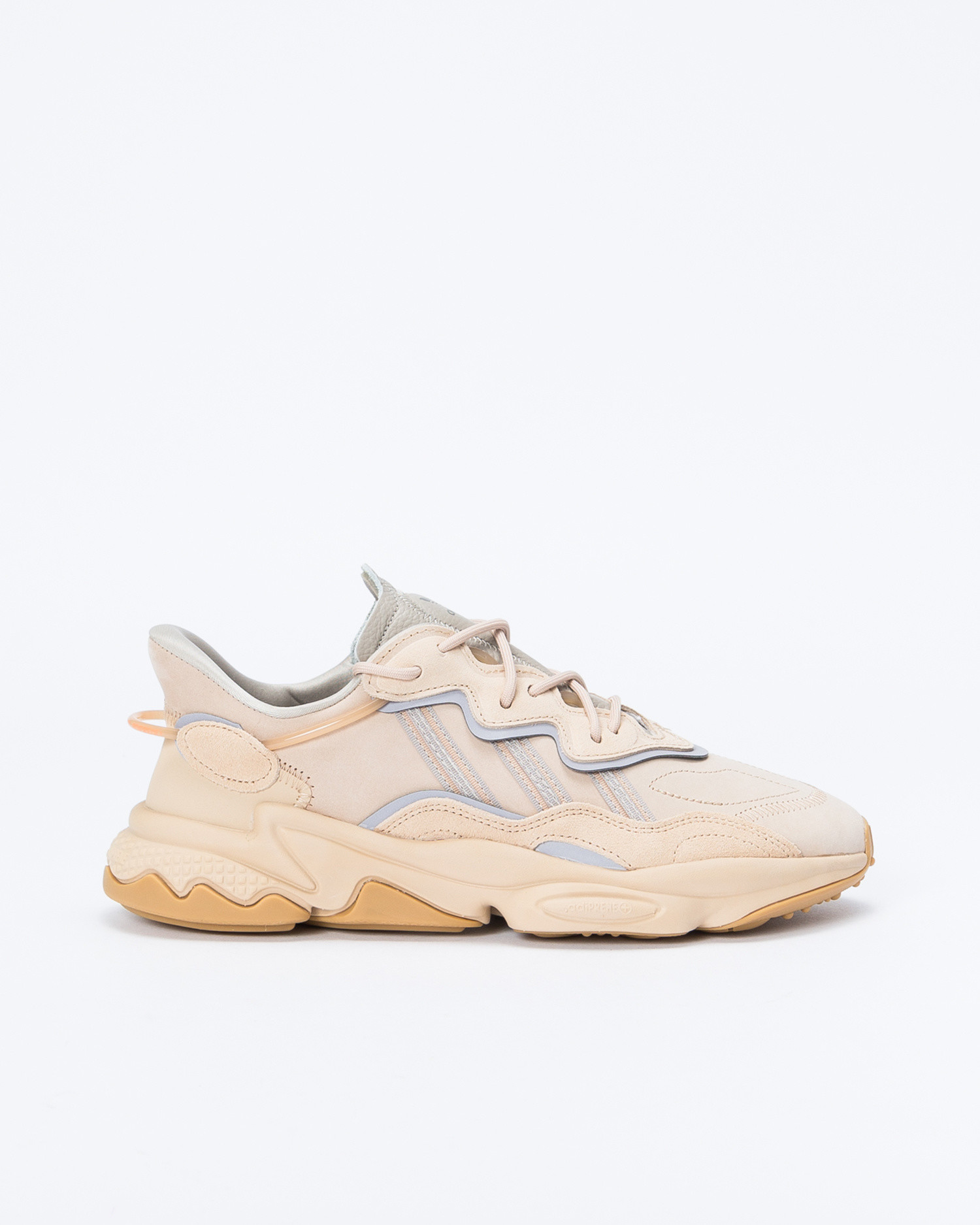Adidas Ozweego ST Pale Nude/ Light Brown / Solar Red