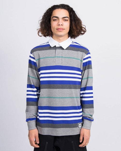 Adidas adidas Skateboarding Cleland Polo T-Shirt Grey / Blue
