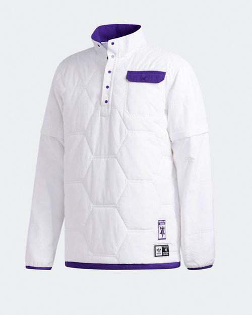 Adidas Adidas X Hardies jckt             white/cpurpl