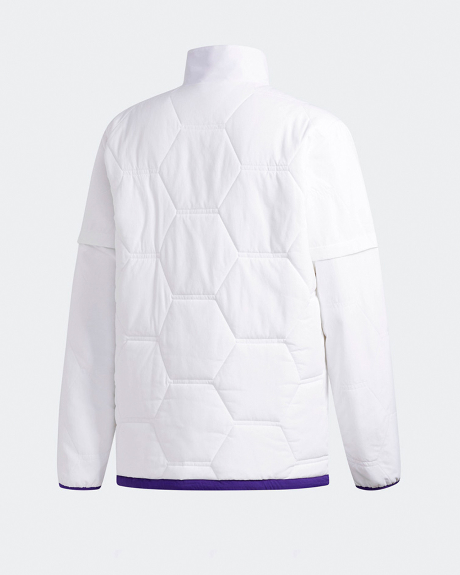 Adidas X Hardies jckt             white/cpurpl