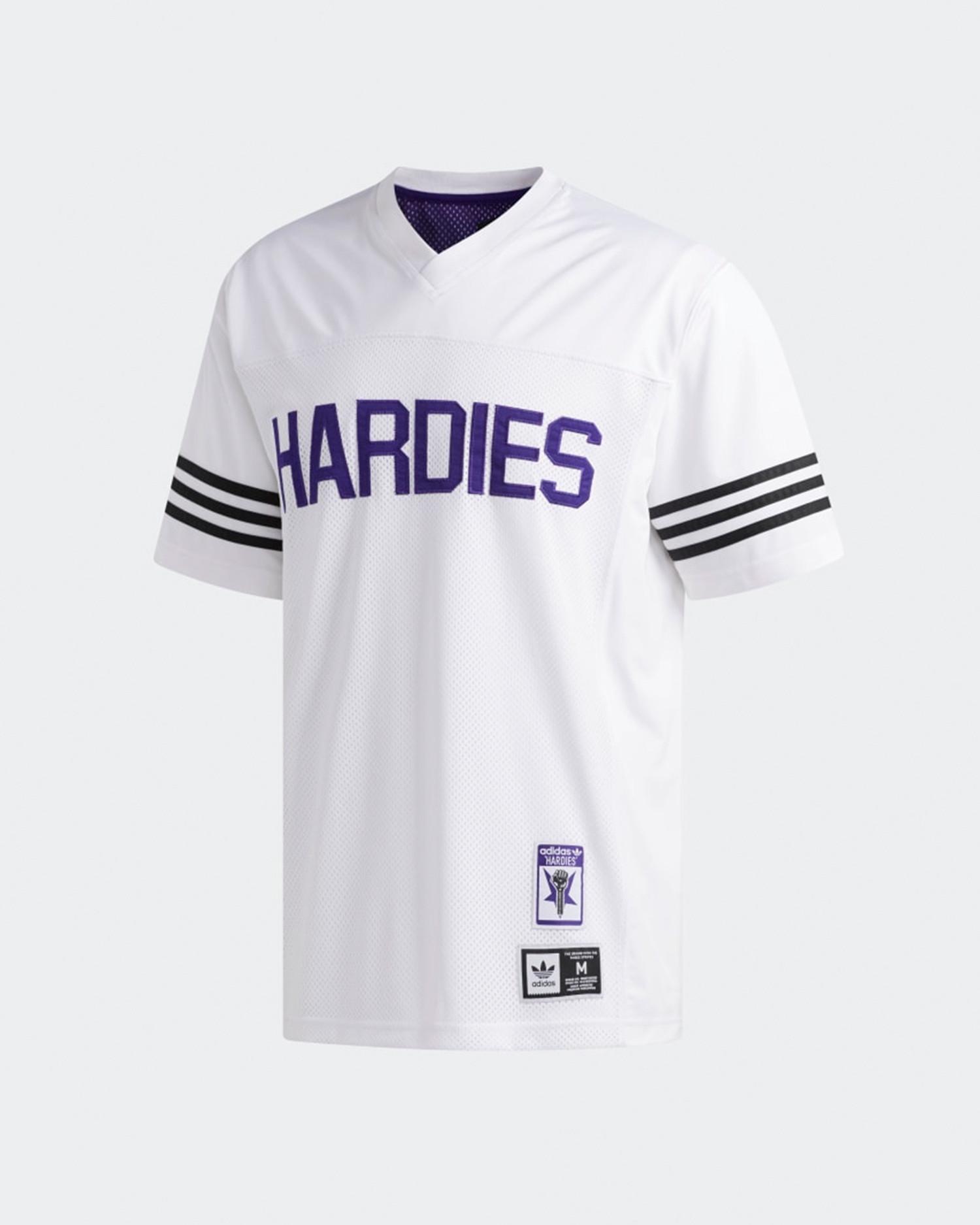 Adidas X Hardies Jersey             white/cpurpl/black