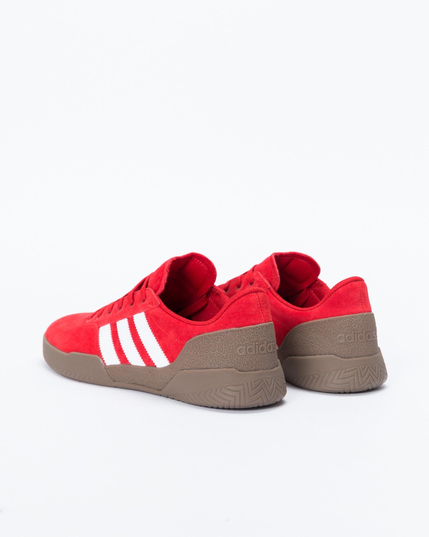 Adidas city cup scarle/ftwwht/gum5