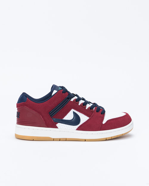 Nike Nike SB Air Force II Low Team red/obsidian-white-summit white