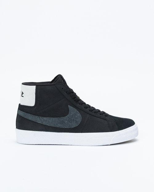 "Nike Nike Zoom Blazer Mid QS ""Gnarhunters"" Black/black-white-white"