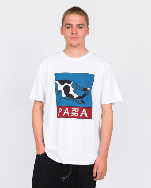 Parra Parra escaping you t-shirt white