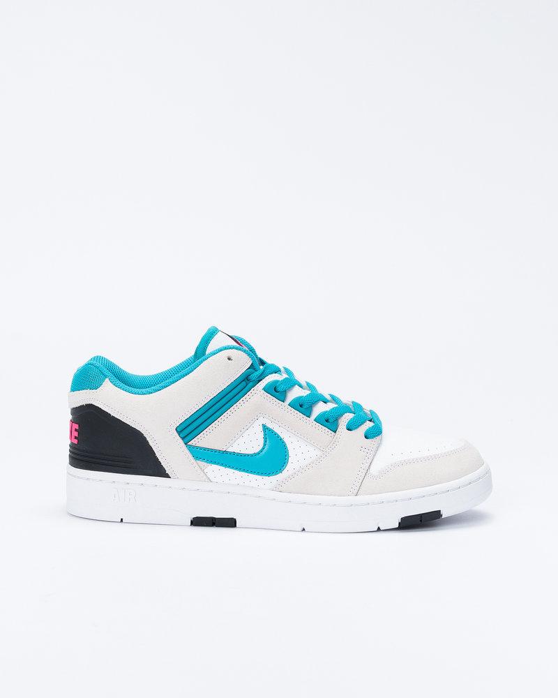 Nike Nike SB Air Force II White/Teal Nebula/Black/Pink flash
