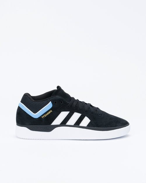 Adidas Adidas Tyshawn Core Black/Footwear White/Light Blue