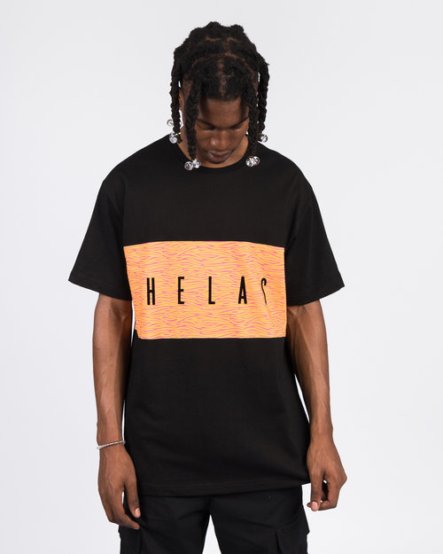 Helas HELAS JUNGLE TEE BLACK