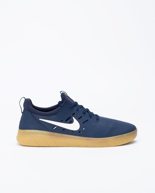 Nike Nike SB Nyjah Free Midnight Navy/Summit White-Midnight Navy