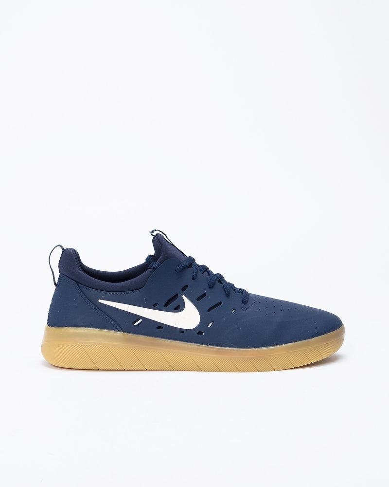 Nike Nike SB Nyjah Free Midnight Navy/Summit White-Midnight Navy