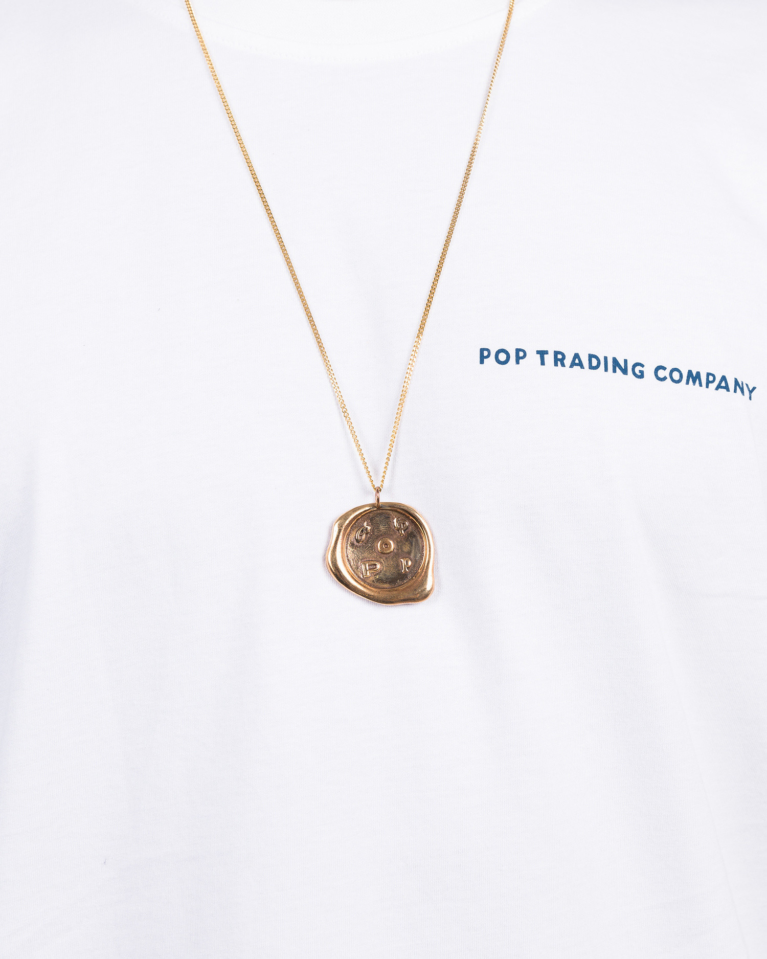 Pop Trading Co X parra bronze pendant