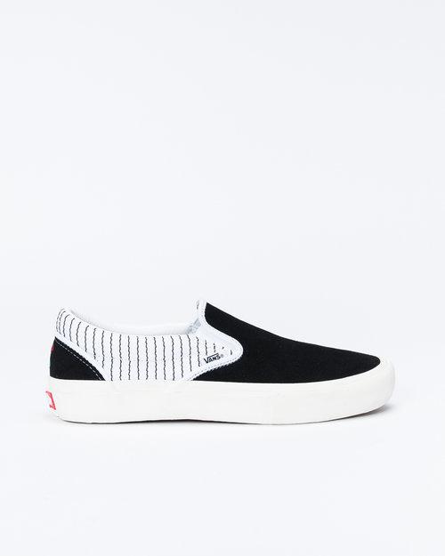 Vans Slip-On Pro (Peels) Black/Thrwht
