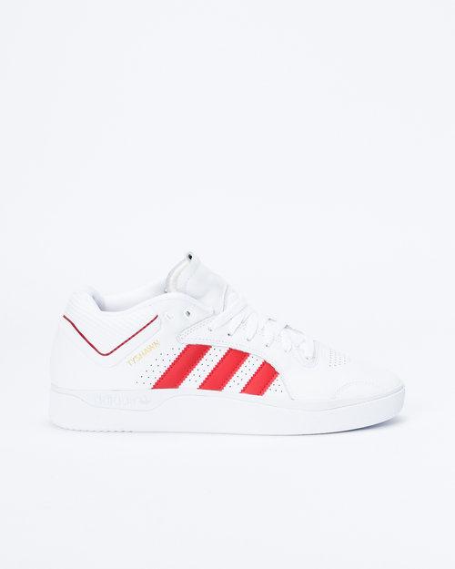 Adidas Adidas Tyshawn Footwear White/Scarlet/Footwear White