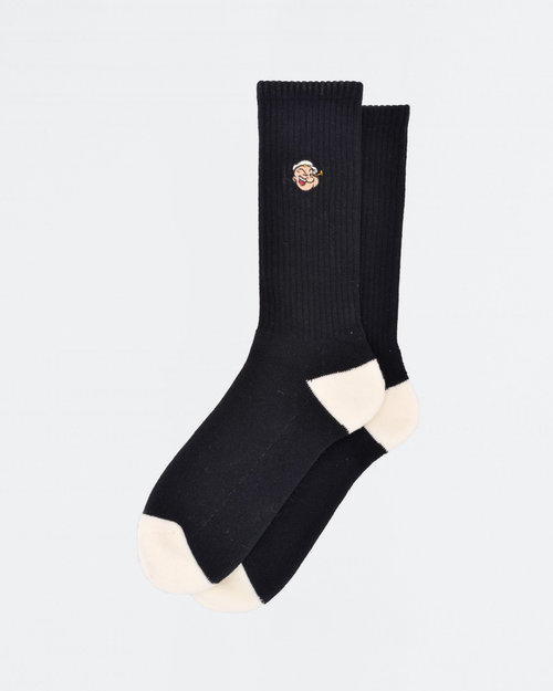 Pop Trading Co Pop Trading Co X Popeye Sport Socks Black
