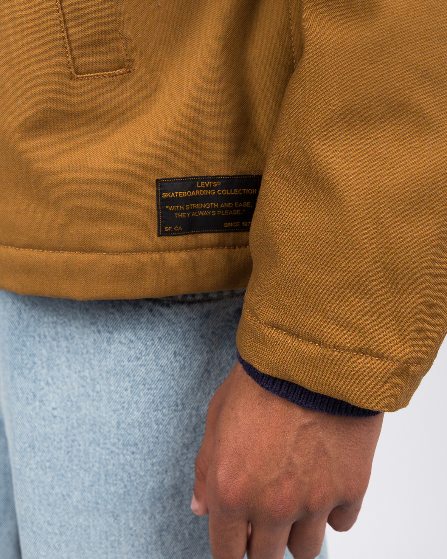 Levi's Skate Mechanics Jacket Dark Ginger
