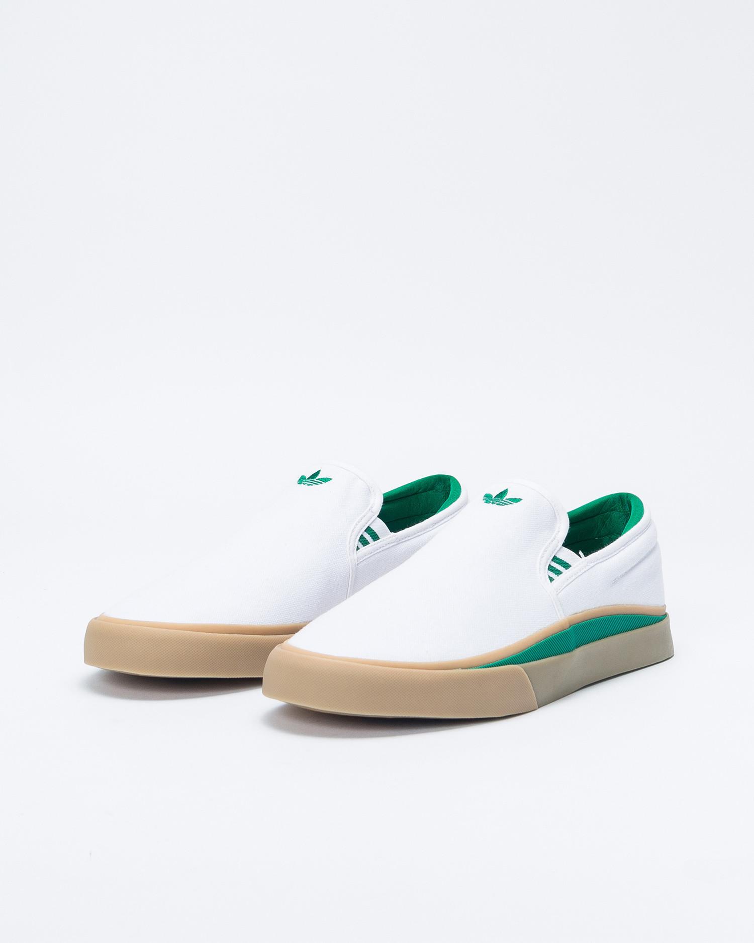 Adidas Sabalo Slip Ftwwht/Bgreen/Gum4