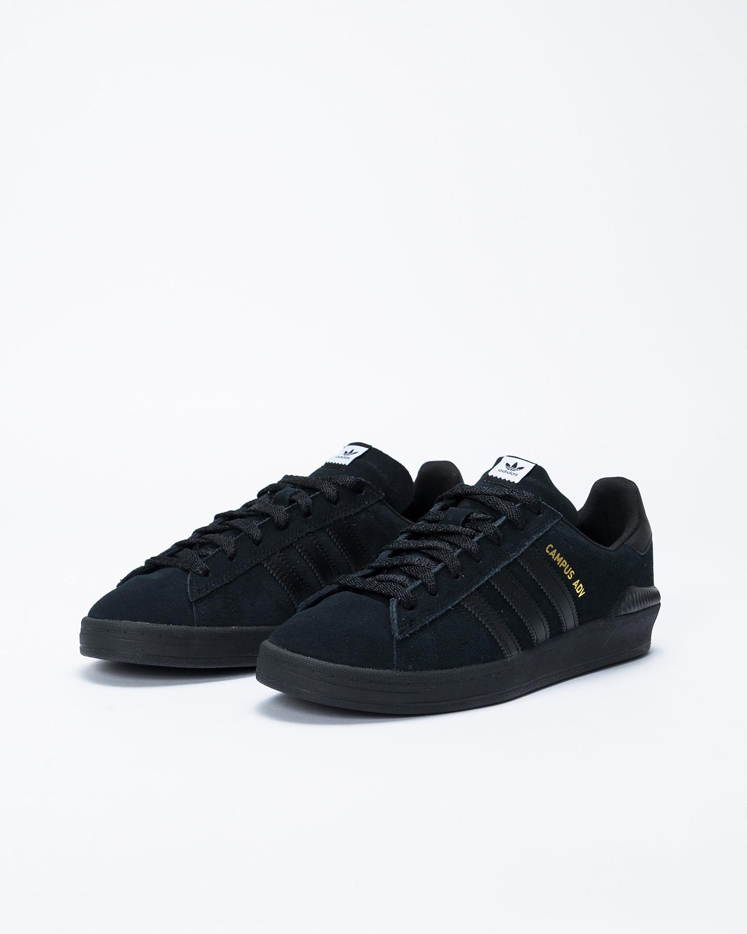 adidas Campus ADV Black/Gum/White
