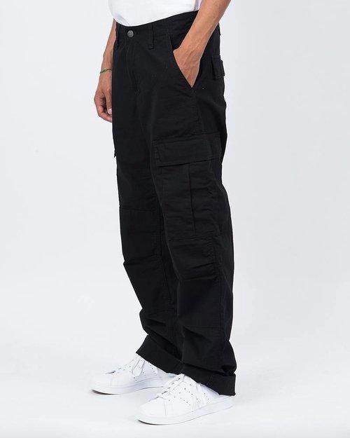 Carhartt Carhartt Regular Cargo Pants Black Rinsed