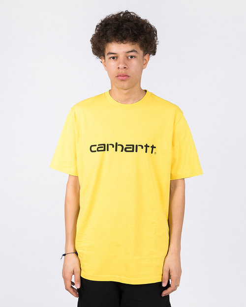 Carhartt Carhartt Script Shortsleeve T-shirt Primula/Black