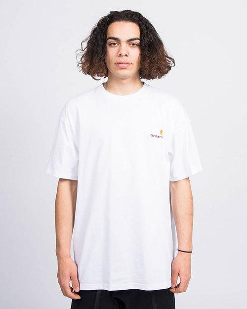 Carhartt Carhartt S/S American Script T-Shirt White