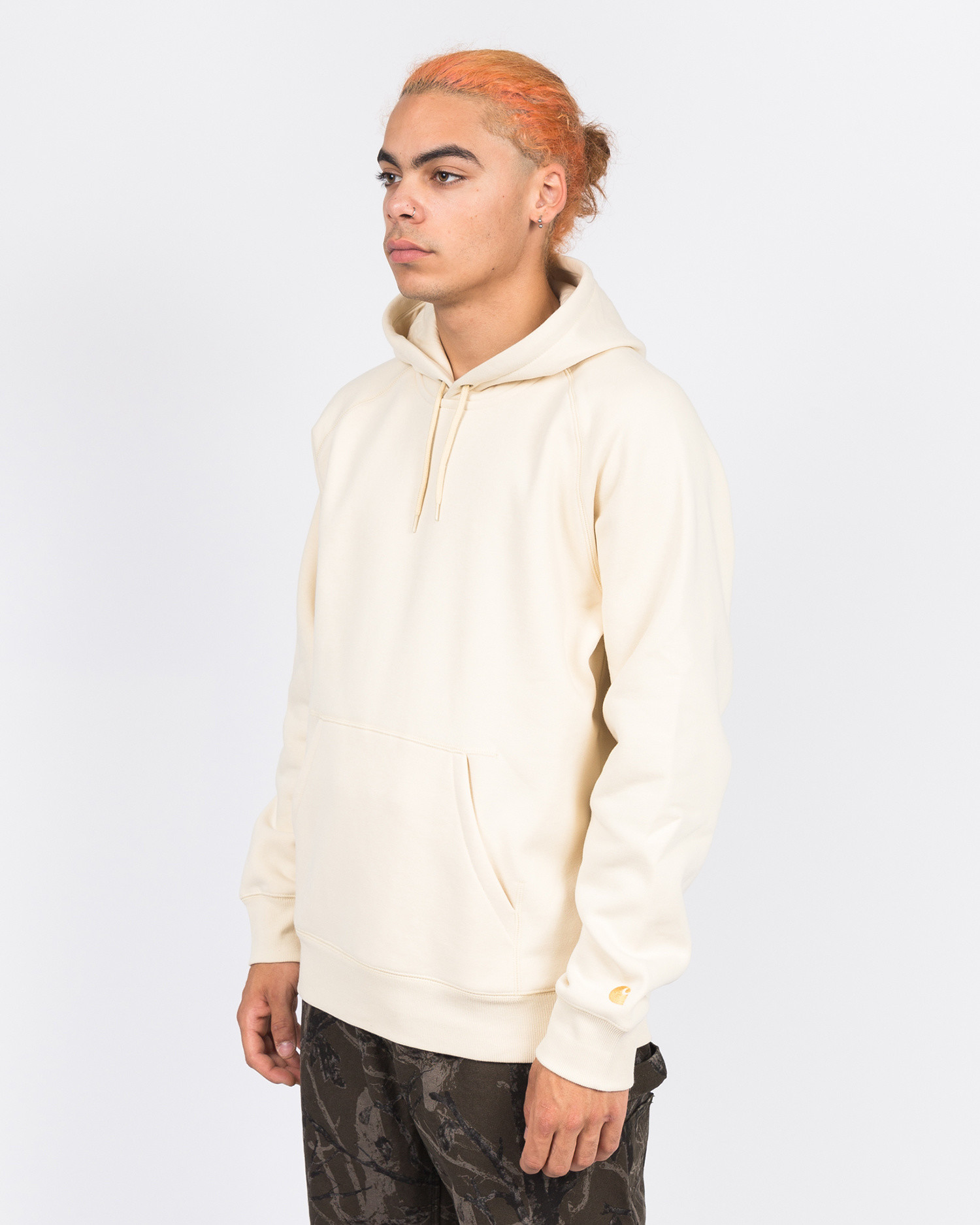 Carhartt Hooded Chase Sweater Flour/Gold