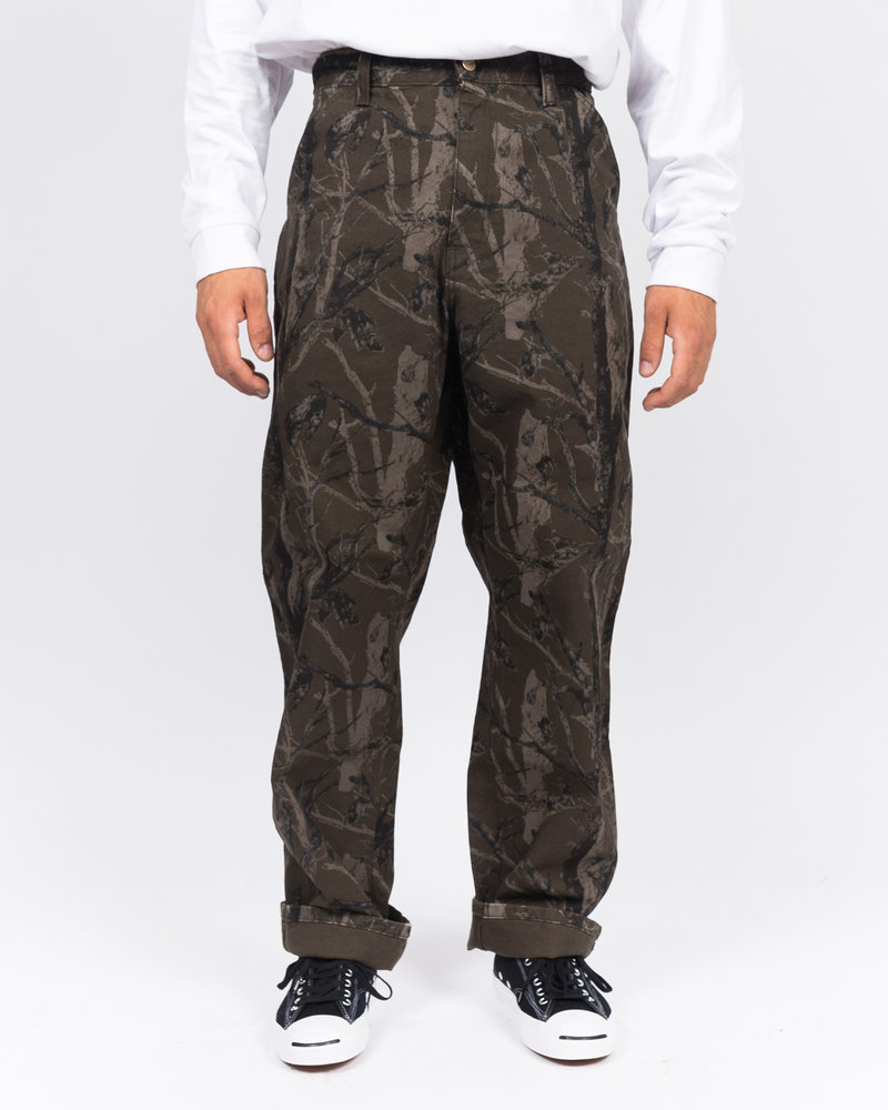 Carhartt Carhartt single knee pant camo tree/green rinsed