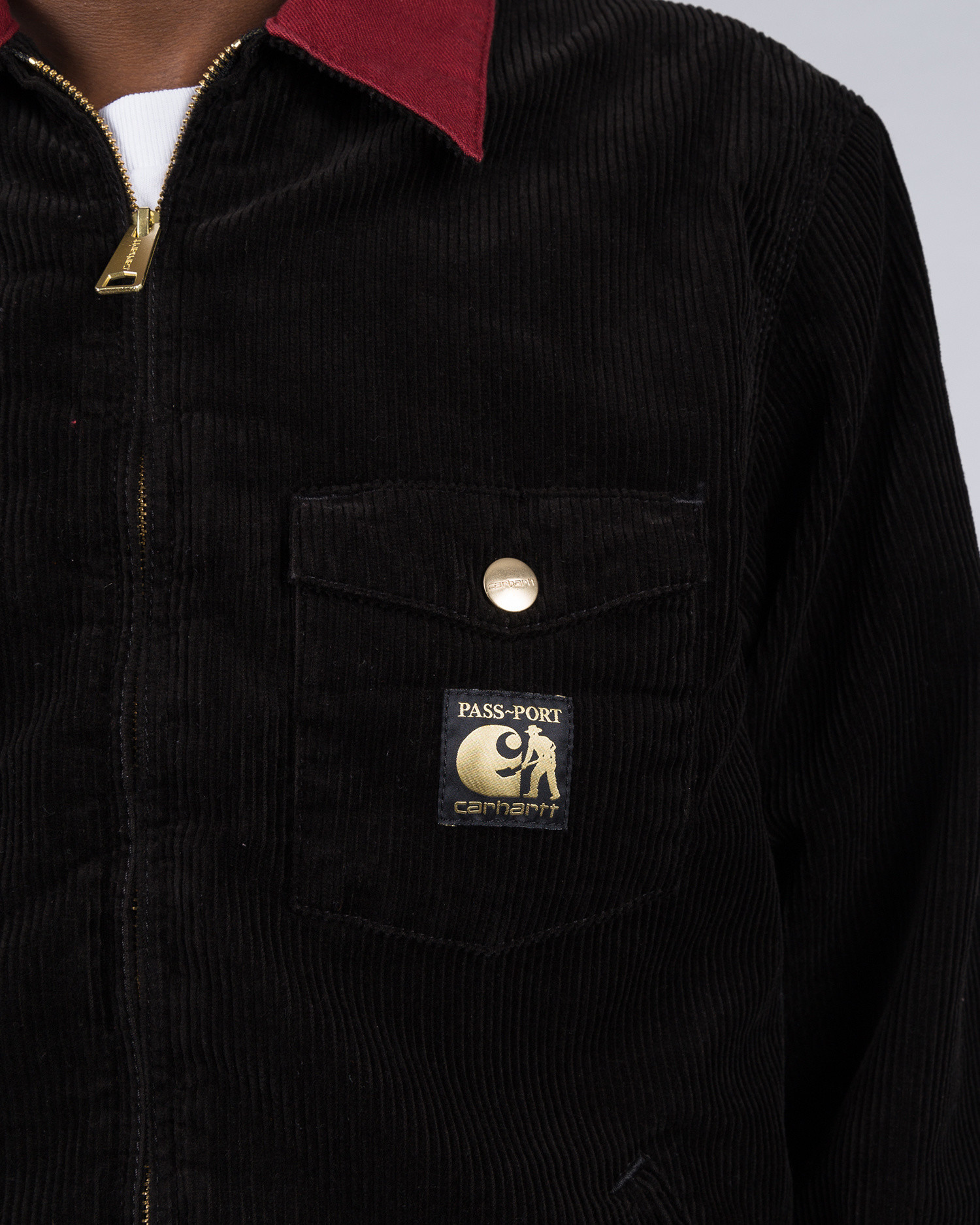 Carhartt X Passport Jacket Passport Black