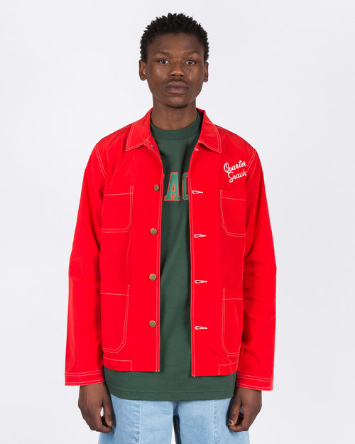 Quartersnacks Quartersnacks Nylon Chore Jacket Red