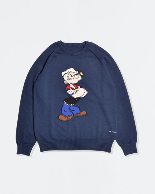 Pop Trading Co Pop Trading Co X Popeye knit navy