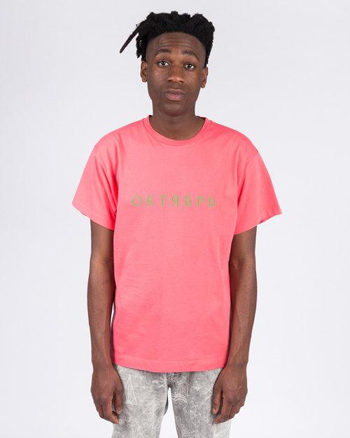 Paccbet Paccbet Large Logo T-shirt Pink