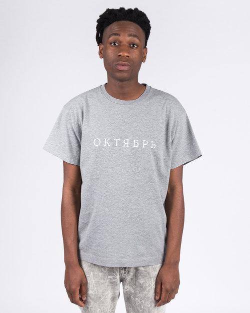 Paccbet Paccbet Large Logo T-shirt Grey