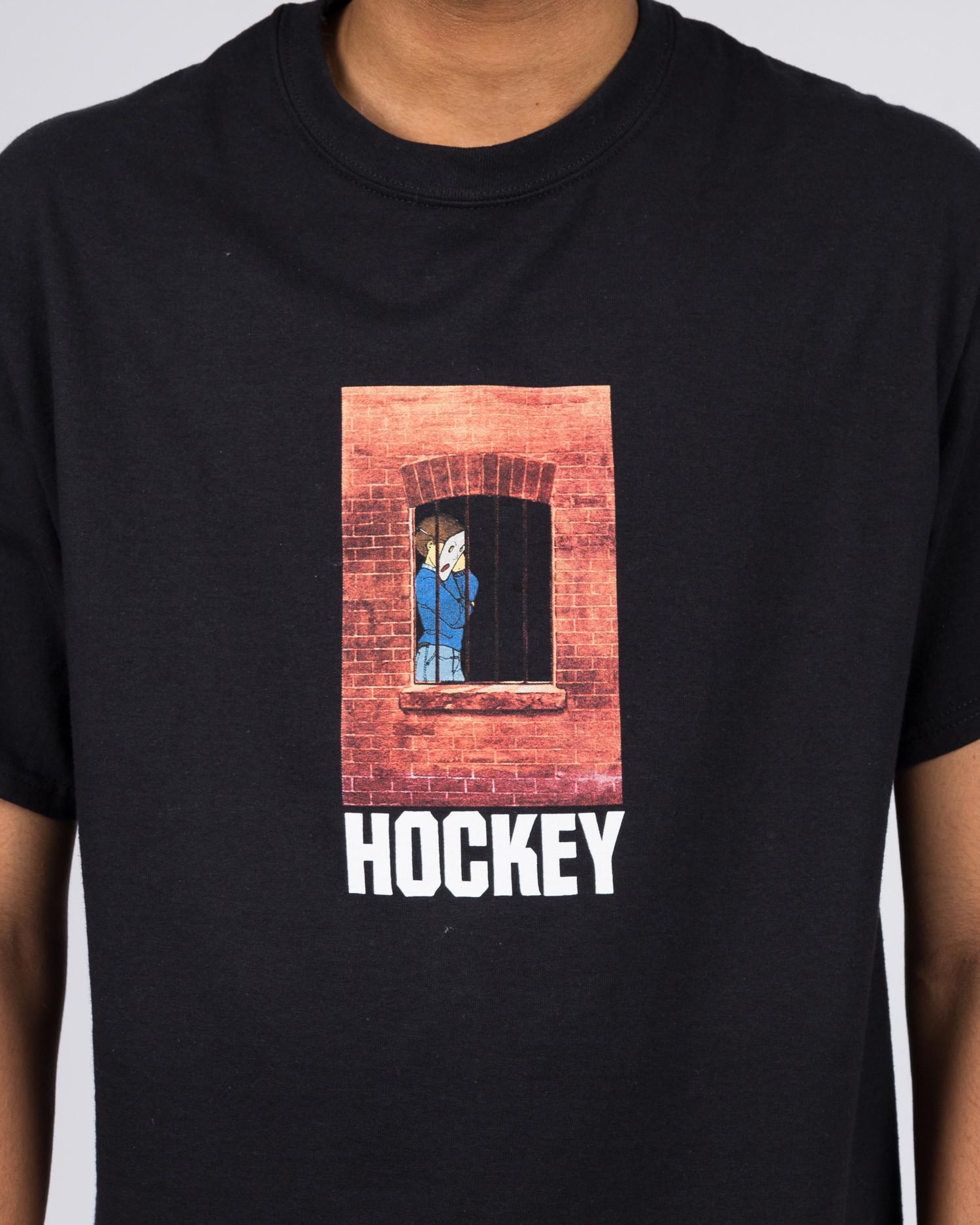 Hockey Bars Tee Black