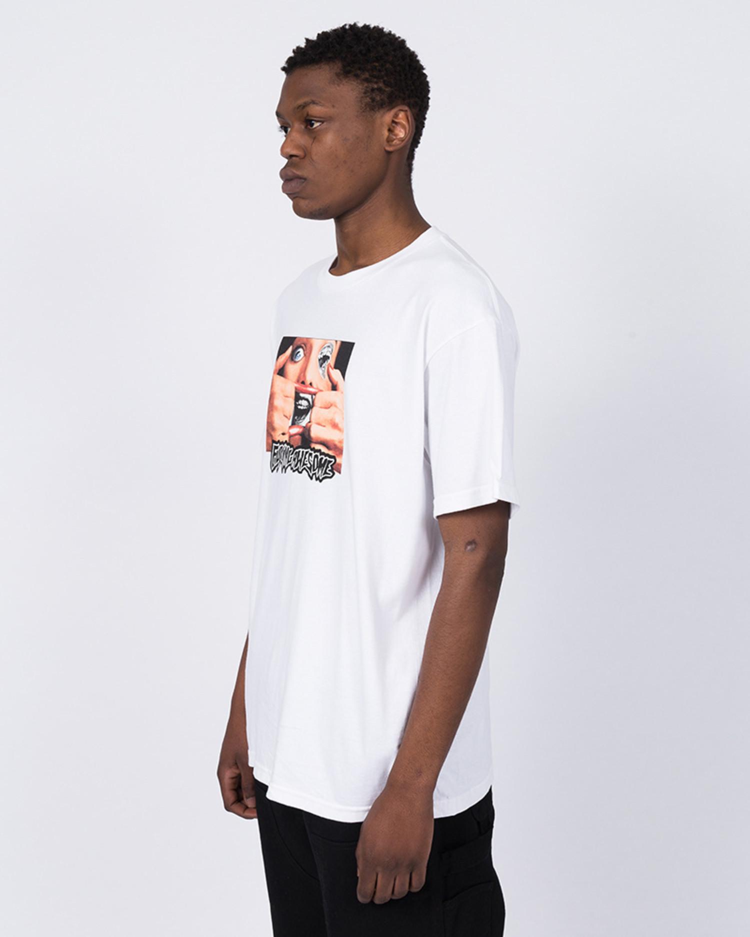 Fucking Awesome Brace Face T-Shirt White