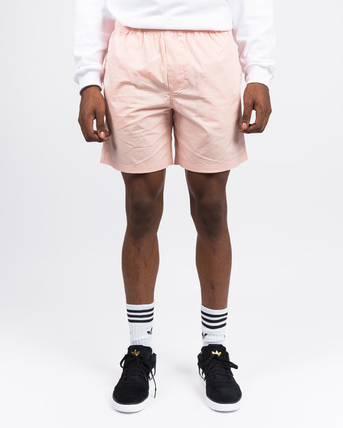Skateboard Cafe Skateboard Cafe Embroidered Shorts Pink