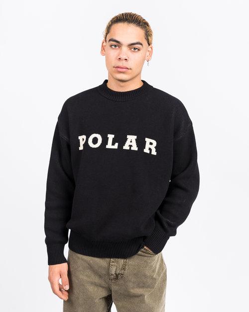 Polar Polar Knit Sweater Black
